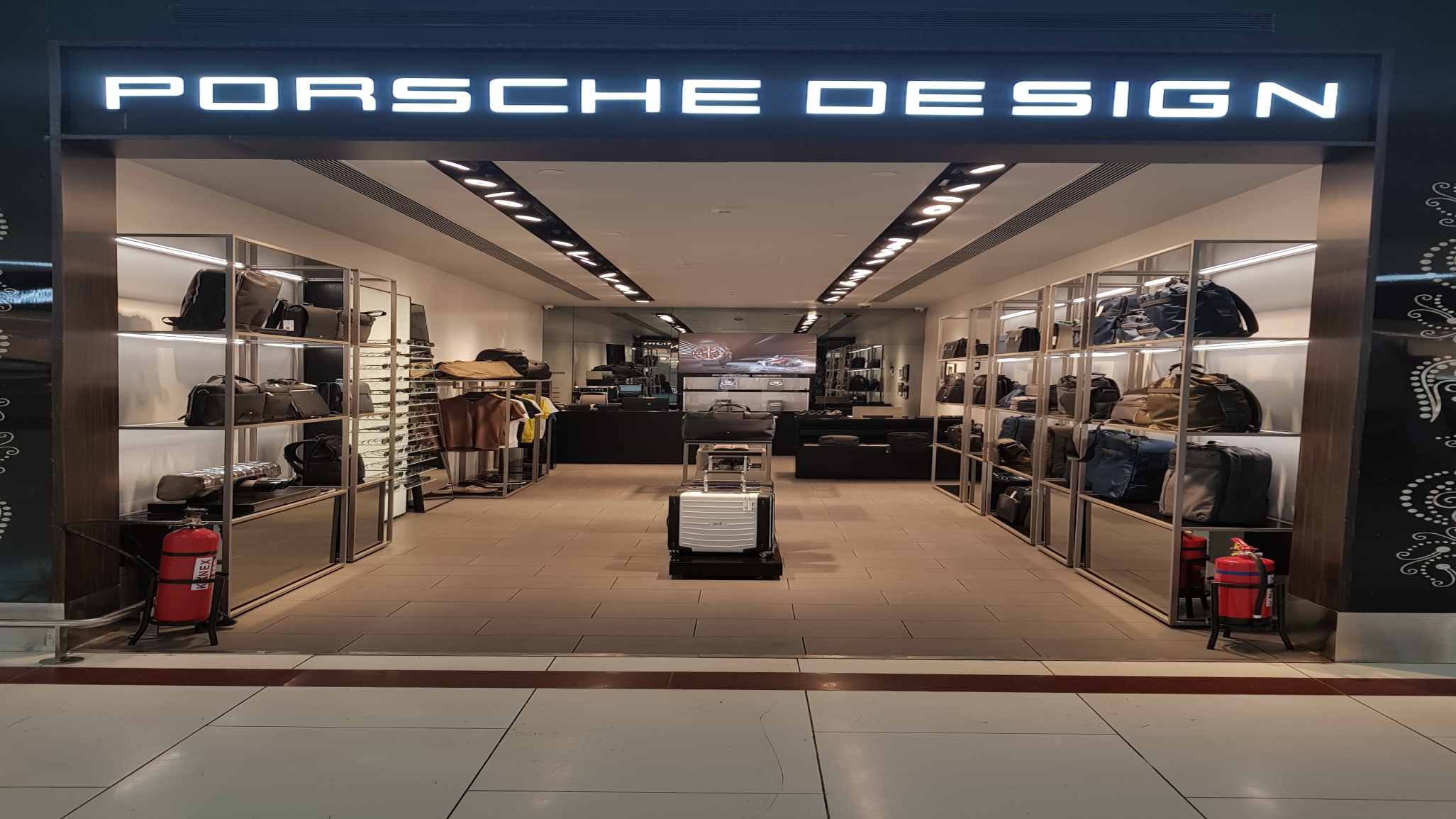 The Porsche Store - Delhi and Hyderabad